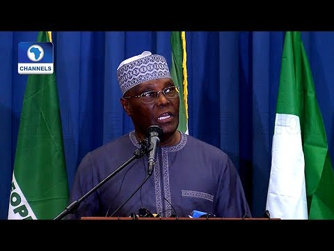 Onnoghen: Atiku Accuses FG Of Assault On Nigeria's Democracy (Full Speech)
