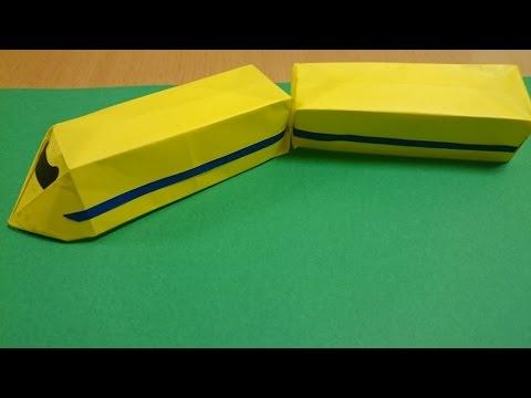 ハート 折り紙 折り紙 電車 折り方 : youtube.com