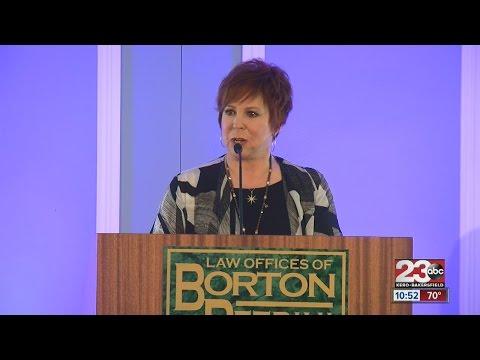Vicki Lawrence of the Carol Burnett  talks Donald Trump at the 2016 Bakersfield Business Confere