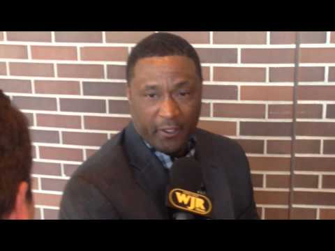 Andre Rison discusses Michigan State Hall of Fame induction