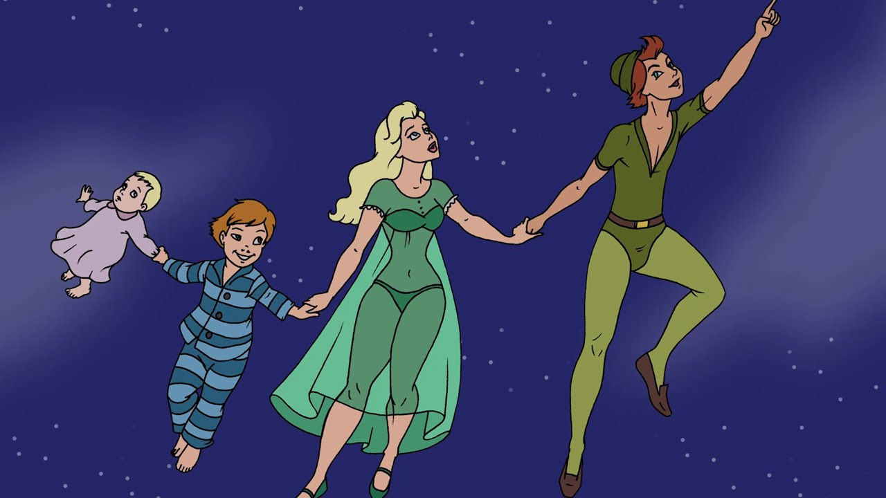 Fairy Tale Friday Peter Pan Youtube