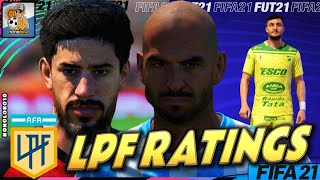 FIFA 21 | Faces & Player Ratings Liga Argentina