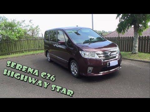 Review Nissan Serena Highway Star C26 Tahun 2013