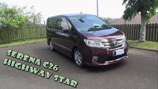 Review Nissan Serena Highway Star C26 Tahun 2013 Video