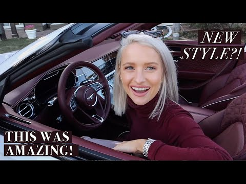We're Changing the Vlogging Style! Trying Something NEW + Driving the Bentley Continental GTC