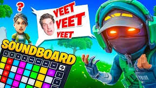 PRETENDING TO BE LAZARBEAM WITH A SOUNDBOARD!