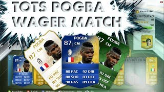 FIFA 14|TOTS POGBA WAGER MATCH|F*CK THIS GAME!|WARNING RAGE!