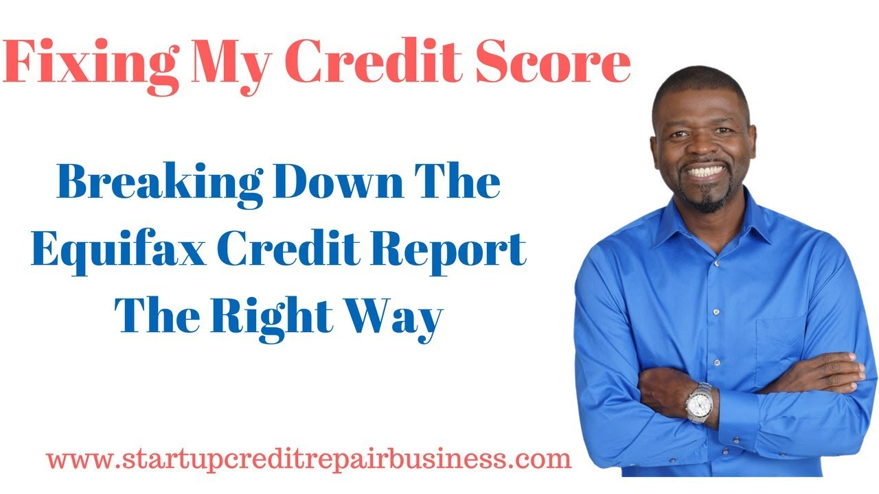 how to get my equifax credit report