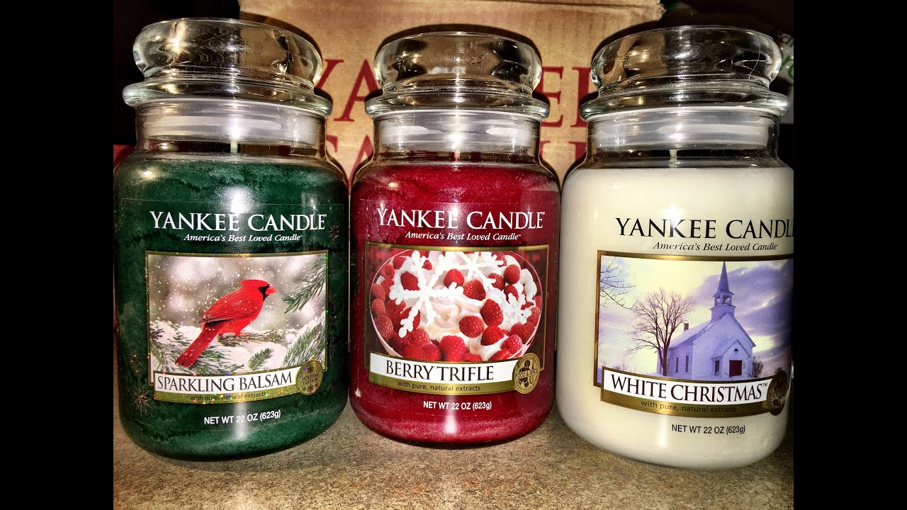 Yankee Candle Unboxing; October 2015! - YouTube