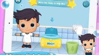 Nico Explore Your Bathroom - Potty Time - top app demo for kids - Philip