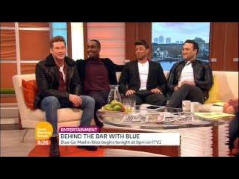 Blue on Good Morning Britain 2015 01 06