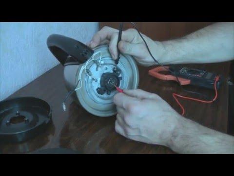 Как отремонтировать электрический чайник своими руками