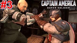Captain America: Super Soldier PS3 Gameplay #3 [Captain America vs Baron Von Strucker]