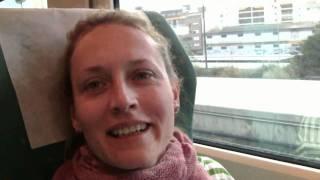 на поезде по Испании Аликанте Мадрид  train in Spane Alicante Madrid