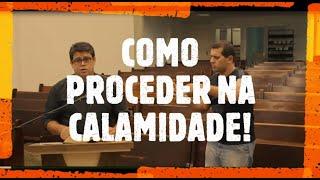 IP Arapongas - Pb Altair Gomes dos Santos - Como Proceder em meio a Calamidade - 05-04-2020