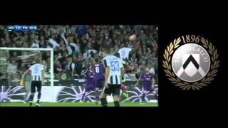 Video Gol Pertandingan Udinese vs Fiorentina
