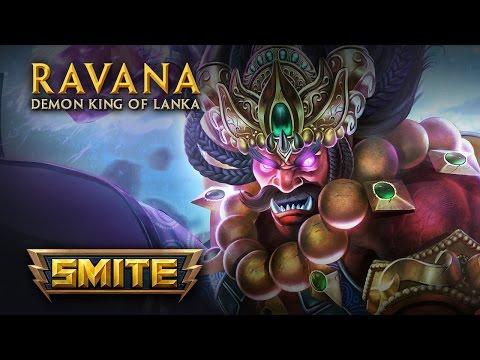 SMITE - God Reveal - Ravana, The Demon King of Lanka