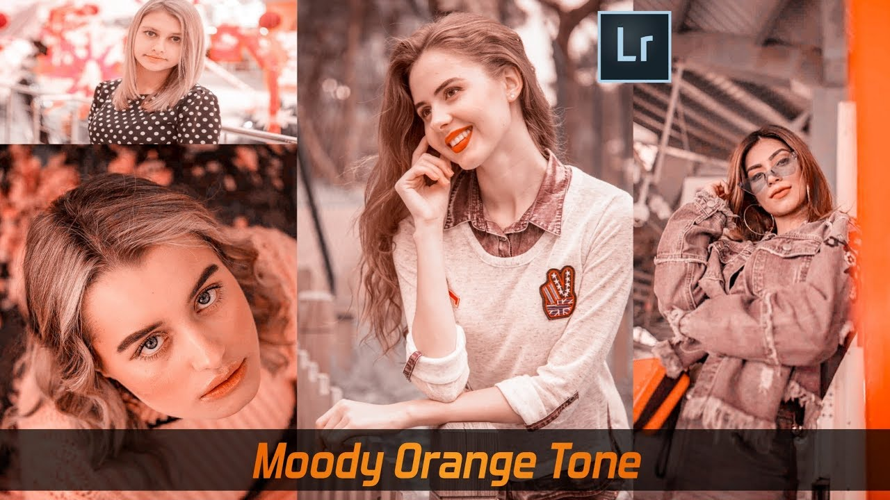 7 29 MB) How to Edit Moody Orange Tone @portsbyady Inspired