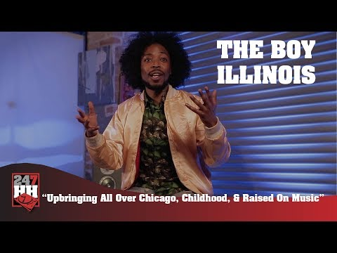 The Boy Illinois - Upbringing All Over Chicago, Childhood, & Raised On Music (247HH Exclusive)