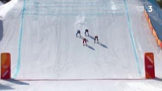 JO 2018 : Ski acrobatique - Ski cross. Place et Chapuis éliminés en quarts de finale