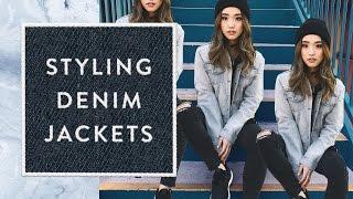 How I Style | Denim Jackets