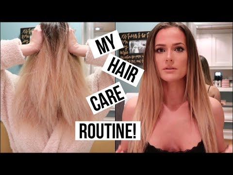 ABOUT MY HAIR, HAIRCARE, & STYLING - VLOG STYLE!   Lauren Benet