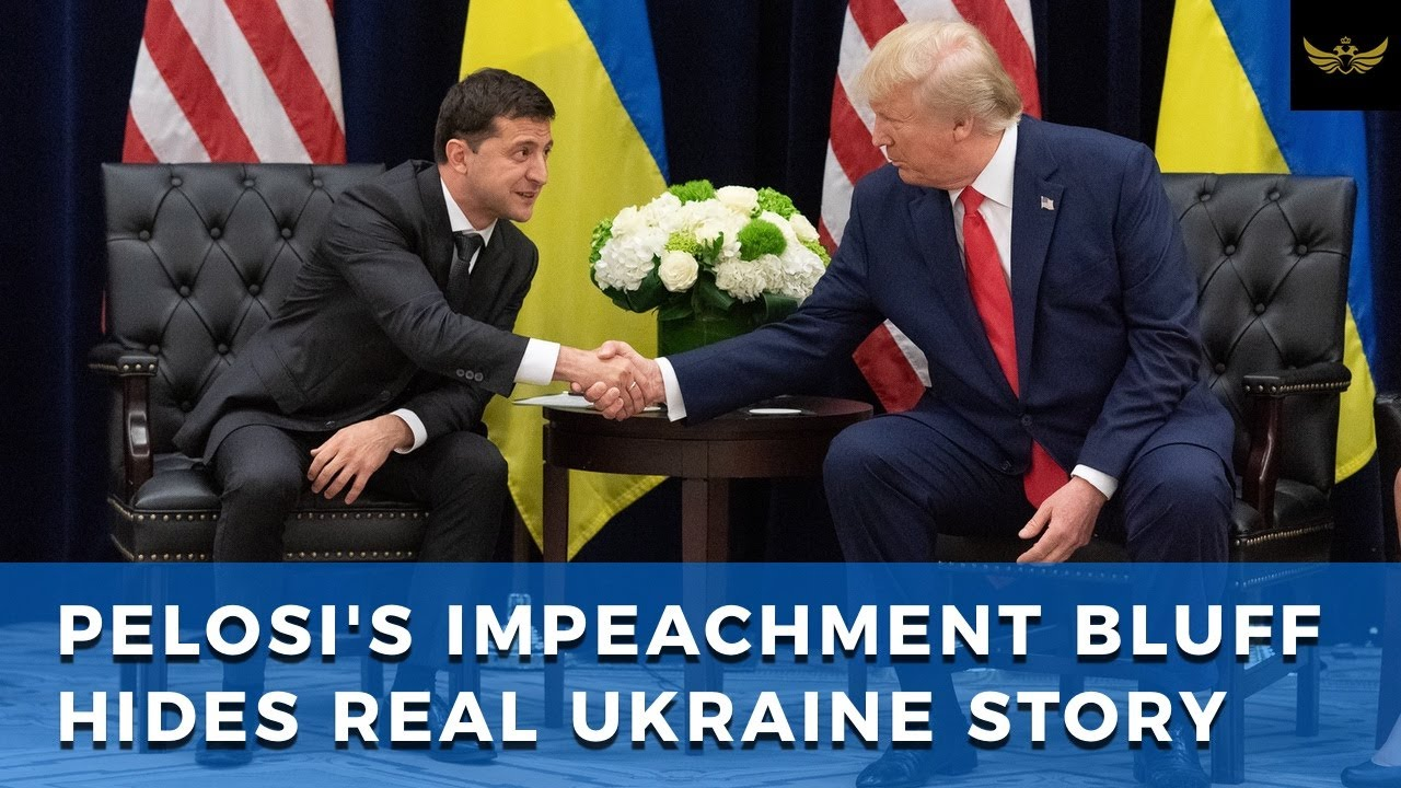 Pelosi Impeachment bluff hides real Ukraine story...CrowdStrike, Soros and Hillary servers in Kiev