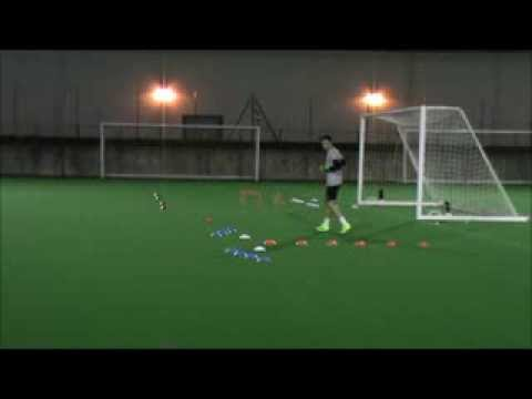 Dan Eddolls - Goalkeeper Training Footage (Soccer Scholarship)