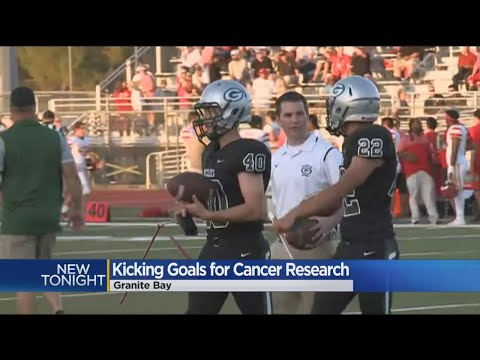 Granite Bay High School Football Players Teaming Up To Kick Cancer