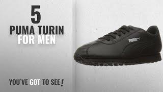 Топ-10 Пума Турин [2018 ]: кросівки пума чоловіча мода Турин, чорний/чорний, 10.5 м
