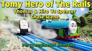 Tomy Hero of The Rails: Hiro & Thomas vs Spencer Chase Scene