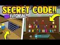*SECRET* BOOKSHELF CODE (tutorial) | Build a boat for Treasure ROBLOX