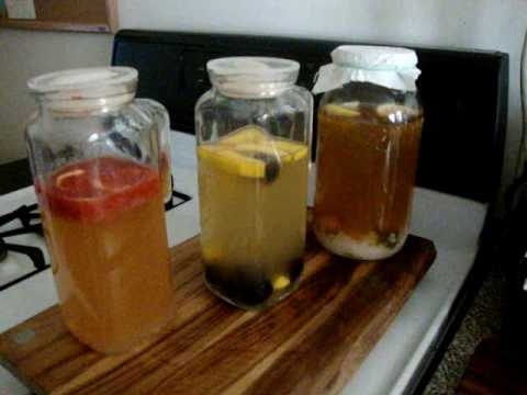 How To Make Flavored Water Kefir - Part II