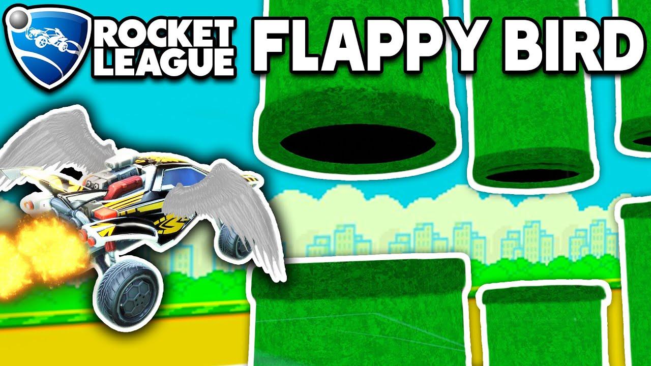 I CREATED FLAPPY BIRD IN ROCKET LEAGUE