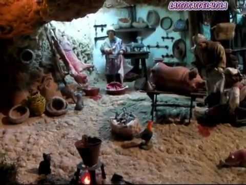 Cocina de le a para el belen pesebre nacimiento youtube - Cocinas de lena ...