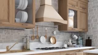 Кухонная вытяжка ELEYUS GAMMA LED SMD - видео обзор рустикальной вытяжки