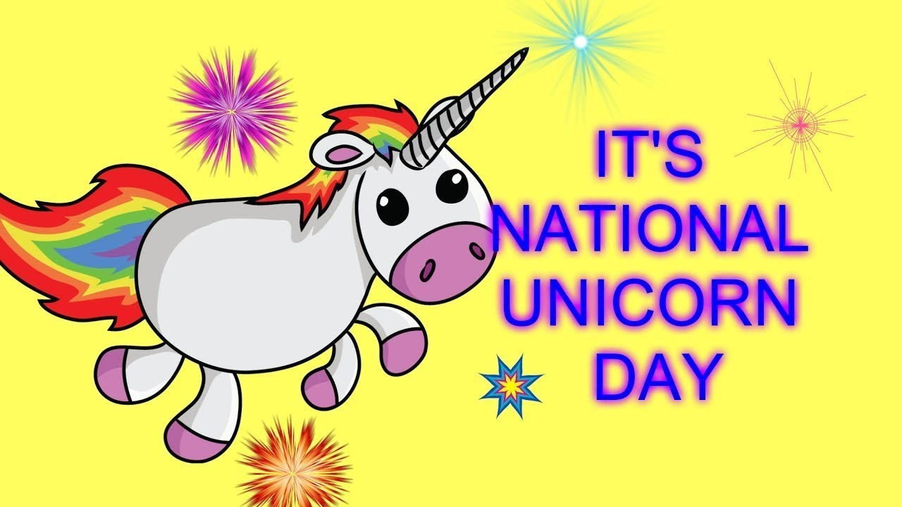 National Unicorn Day April 9Th - Youtube-8493
