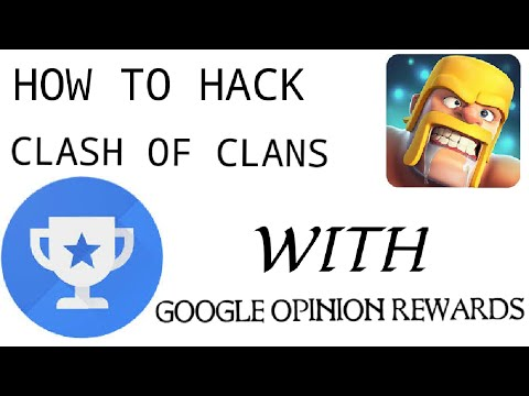 how to hack clash of clans legally | google opinion rewards | Free gems | clash of clans gems