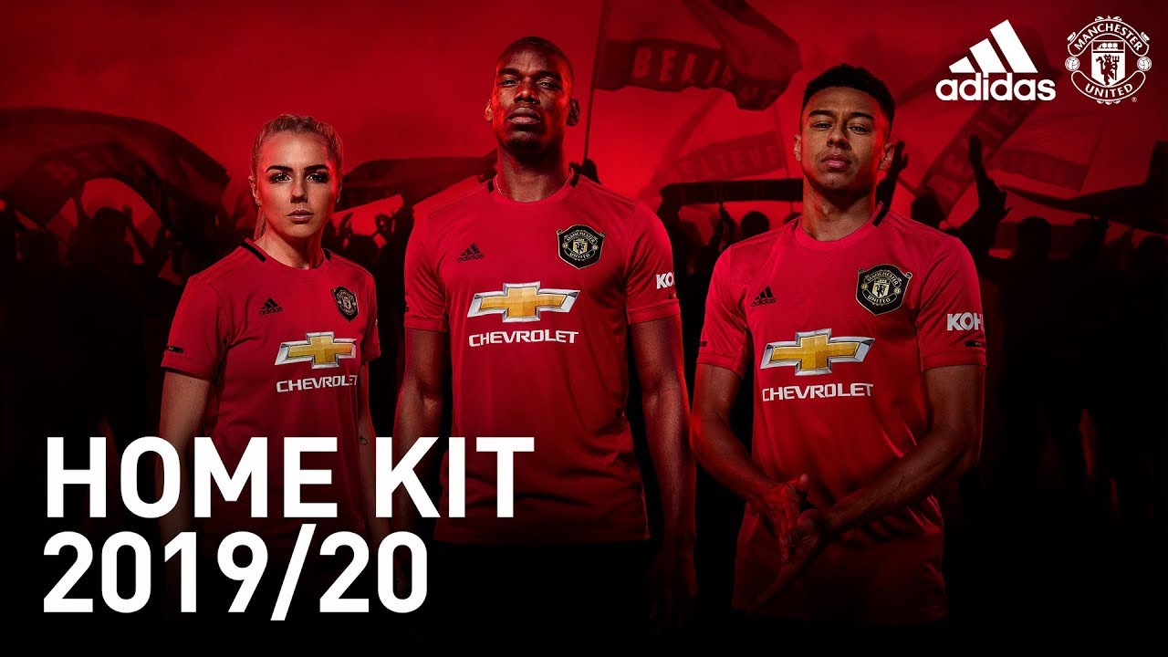 buy online 7252c 4789c The New Manchester United Home Kit | adidas | 2019/20