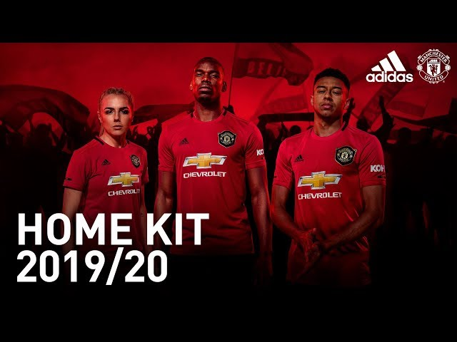 The New Manchester United Home Kit | adidas | 2019/20