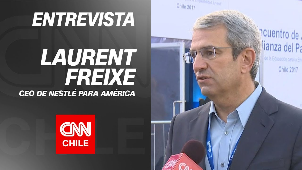 "Laurent Freixe, CEO de Nestlé para América: ""No podemos permitirnos tener a los jóvenes aparte"""