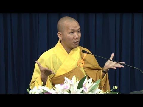 Thầy trụ trì chùa LINH QUY PHÁP ẤN thuyết giảng cực hay và hài hước.