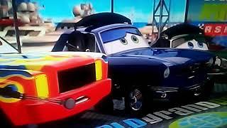 Cars 2 Carla Veloso and Nigel Gearsley Crash
