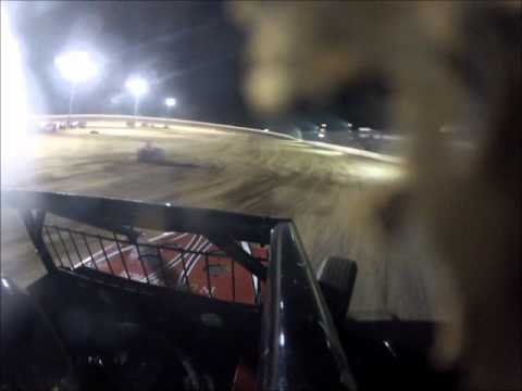 Kyle Cummins- Onboard Feature at Clay County Speedway 8-25-12