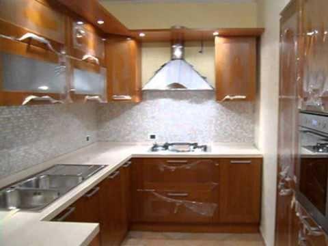 Cucina penisola angolo con top in quarzo youtube - Cucine con penisola ...