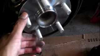 Rear wheel bearing R&R