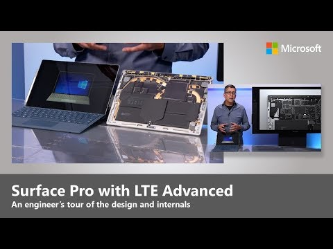 Surface Pro with LTE Advanced - An engineer