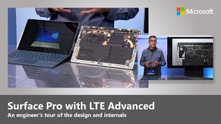 The new Surface Pro with LTE Advanced, comes with a purpose-built s...
