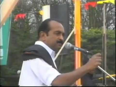 Vaiko Geneva Speech in 2000 in front of UN building