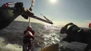 Kitesurfing from Torö to Gotland